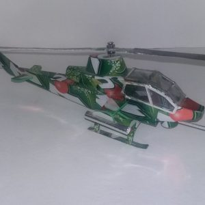 Beverage can helicopter plans