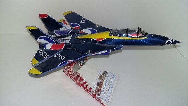 Aluminum can airplane F-14 Tomcat