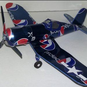 Aluminum can airplane Corsair plans