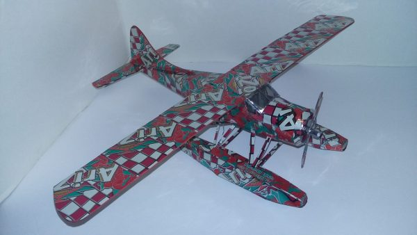 Aluminum can airplane DHC-2 Beaver