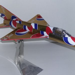 Aluminum can airplane MiG-21 plans