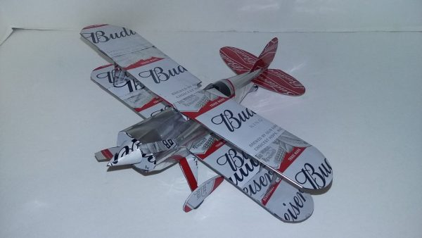 Aluminum can airplane Pitts Special