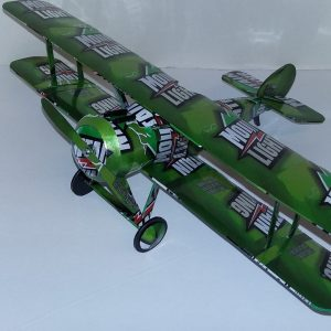 Aluminum can airplane Sopwith