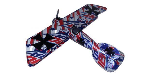Aluminum can airplane Albatros DVa