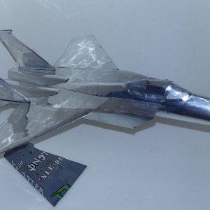 Coke can airplane F-15 Eagle