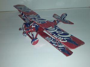 Aluminum Can airplane plans Nieuport 17